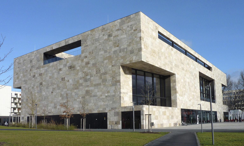 FFM Uni-Campus Westend HSZ Suedwest-Ansicht