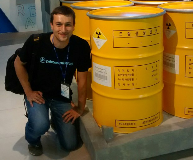 Nuclear waste to be stored underground.