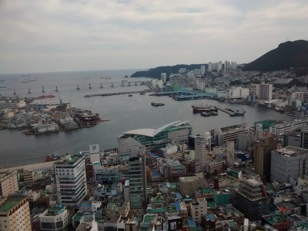 Busan harbour