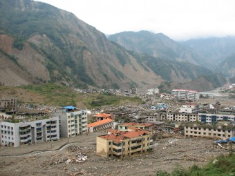 Damage from the 2008 Great Sichuan Earthquake in China