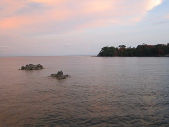 Sunset at Lake Malawi