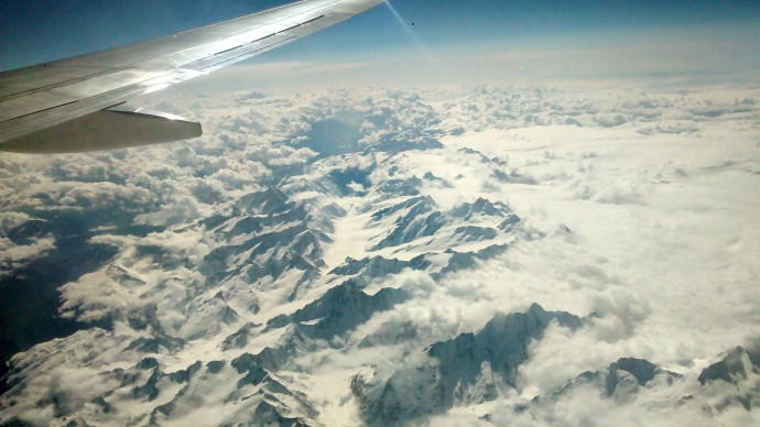 On the way from London to Rome - the Swiss Alps awaken the appetite for more geomorphology!