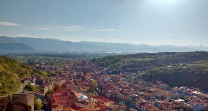 Beautiful Pescina and the Fucino Basin