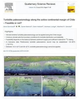 Turbidite paleoseismology along the active continental margin of Chile – Feasible or not?