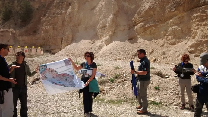 Poggio Picenze - Early Pleistocene lacustrine deposits