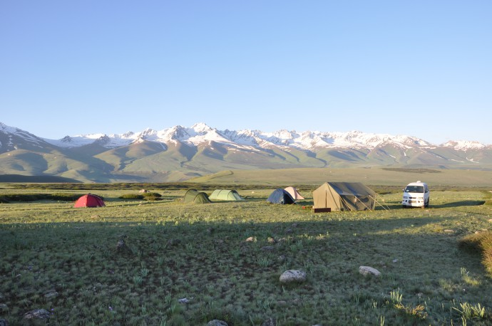 Our field camp