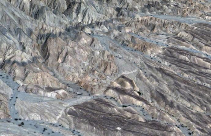 3D view of the 2013 Balochistan earthquake rupture (Zhou et al., 2015)