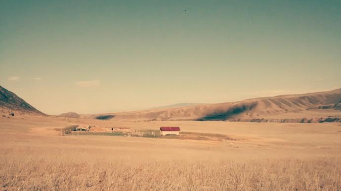 It's hard to not appreciate the beautyful landscape.