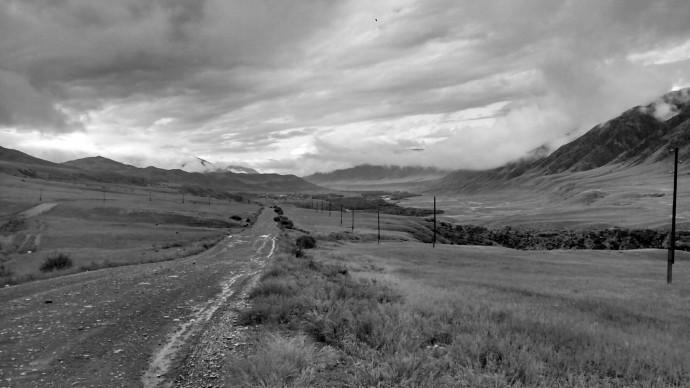 Entering Saty valley.