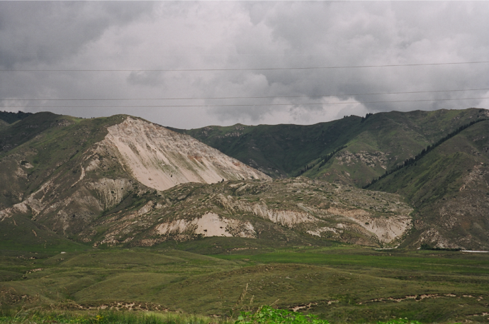 Ananevo Landslide (triggered during the 1911 earthquake)