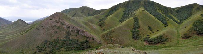 Steep terrain, but beautiful fault.